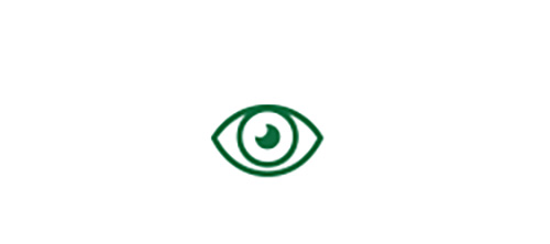 Eye icon indicating high quality distance vision